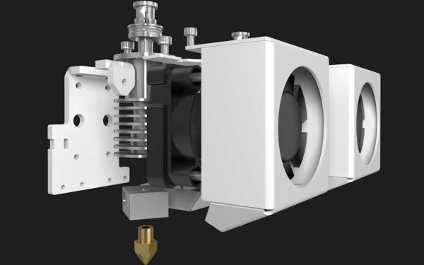 BCN3D Sigma R17 3D print glava