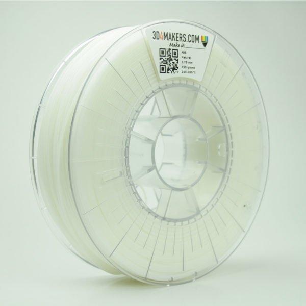 3D4Makers ABS filament natural