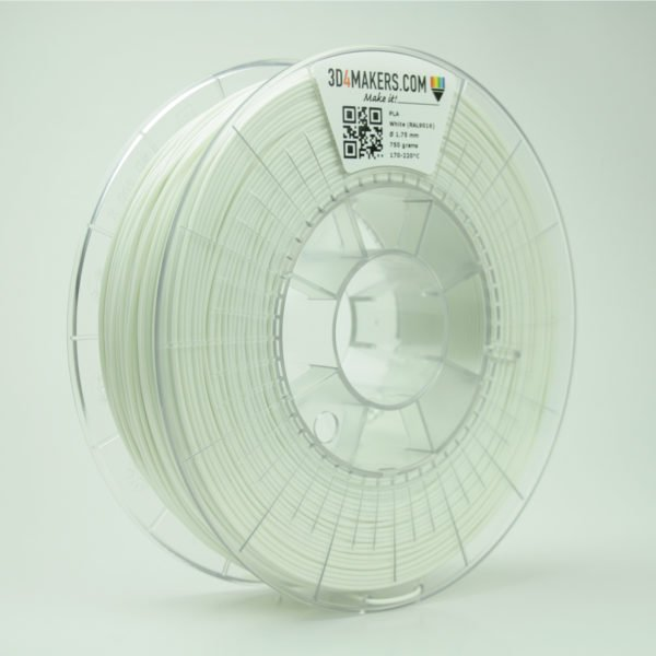 3D4Makers PLA filament white