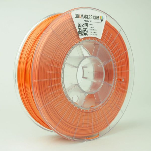 3D4Makers PETG filament orange