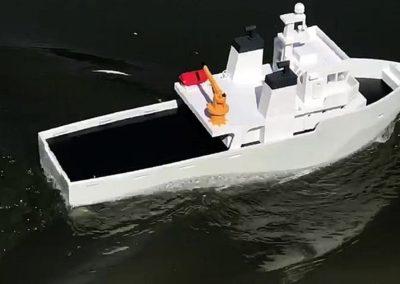 3D printani RC brodić - colorFabb economy PETG
