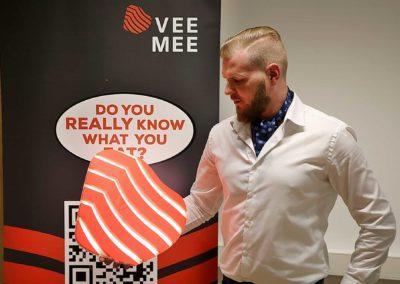 3D printani logo tvrtke VeeMee - Fillamentum PLA Extrafill Premium
