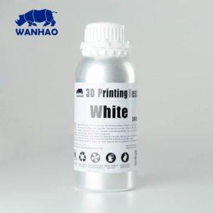 Wanhao-3D Printer UV-Resin vodoperiv bijeli boca