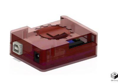 kućište, 3D model, 3D print, PETG