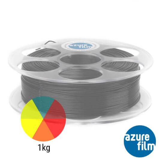 3dprintaj.com trgovina, slika role azurefilm PLA filamenta u raznim bojama