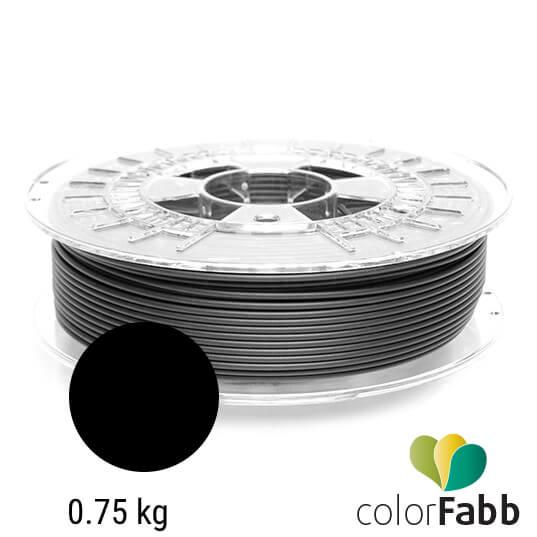 Filament za 3d printer PLA semi matte black proizvođača colorFabb od 0.75 kg