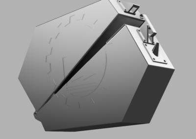 kutija za filament, 3d model, 3d print, logo
