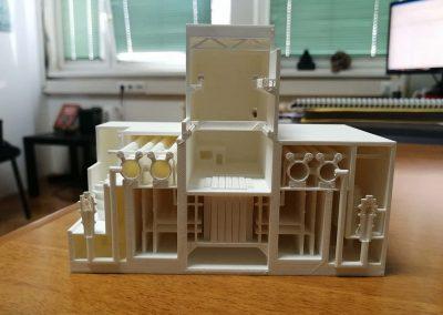 černobil reaktor 3D print