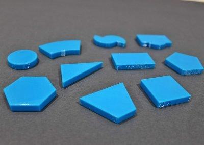 3D print EASI tactile blue