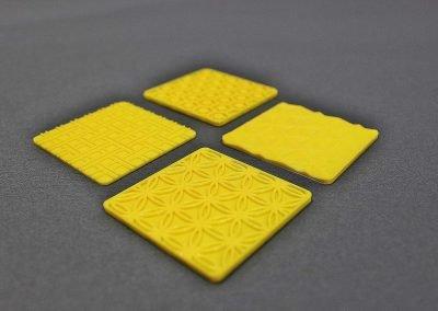 3D print EASI tactile yellow