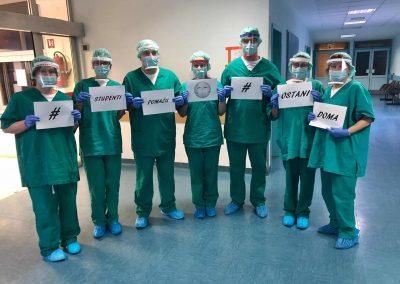 Zdravstveni djelatnici podržavaju akciju