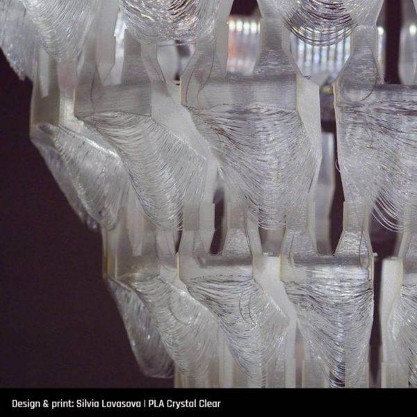 PLA Crystal Clear rola - 3dprintaj - primjer