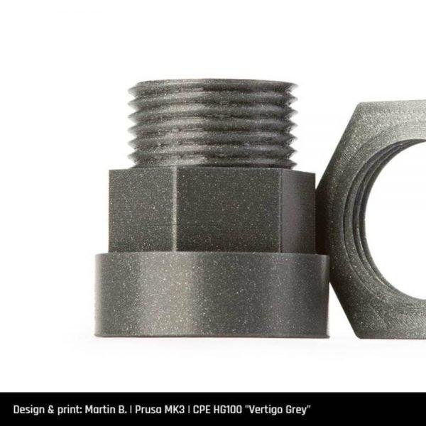 Fillamentum CPE HG 100 filament primjer - 3dprintaj.com