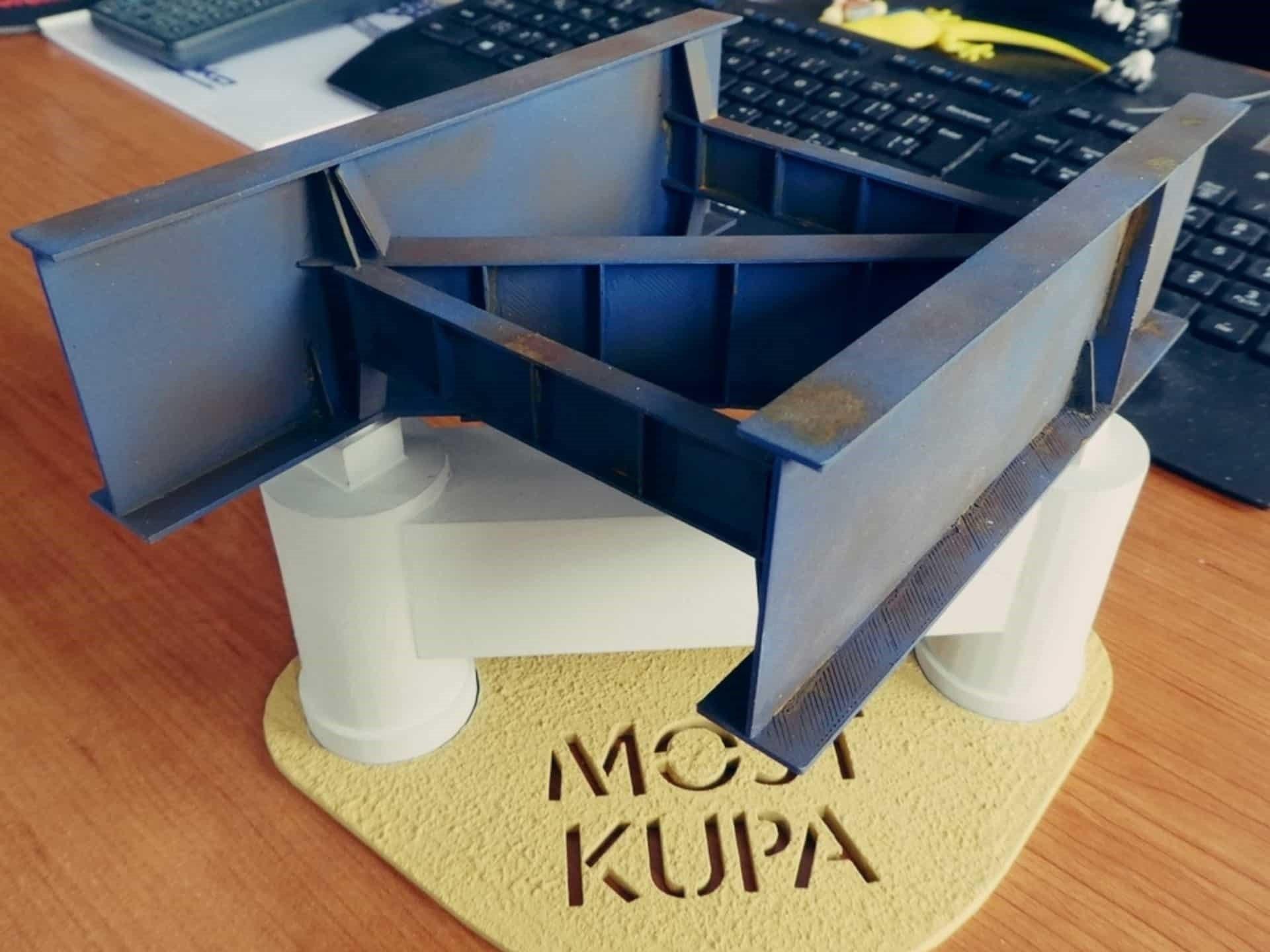Most Kupa-3D print