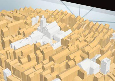 grad korčula 3D model