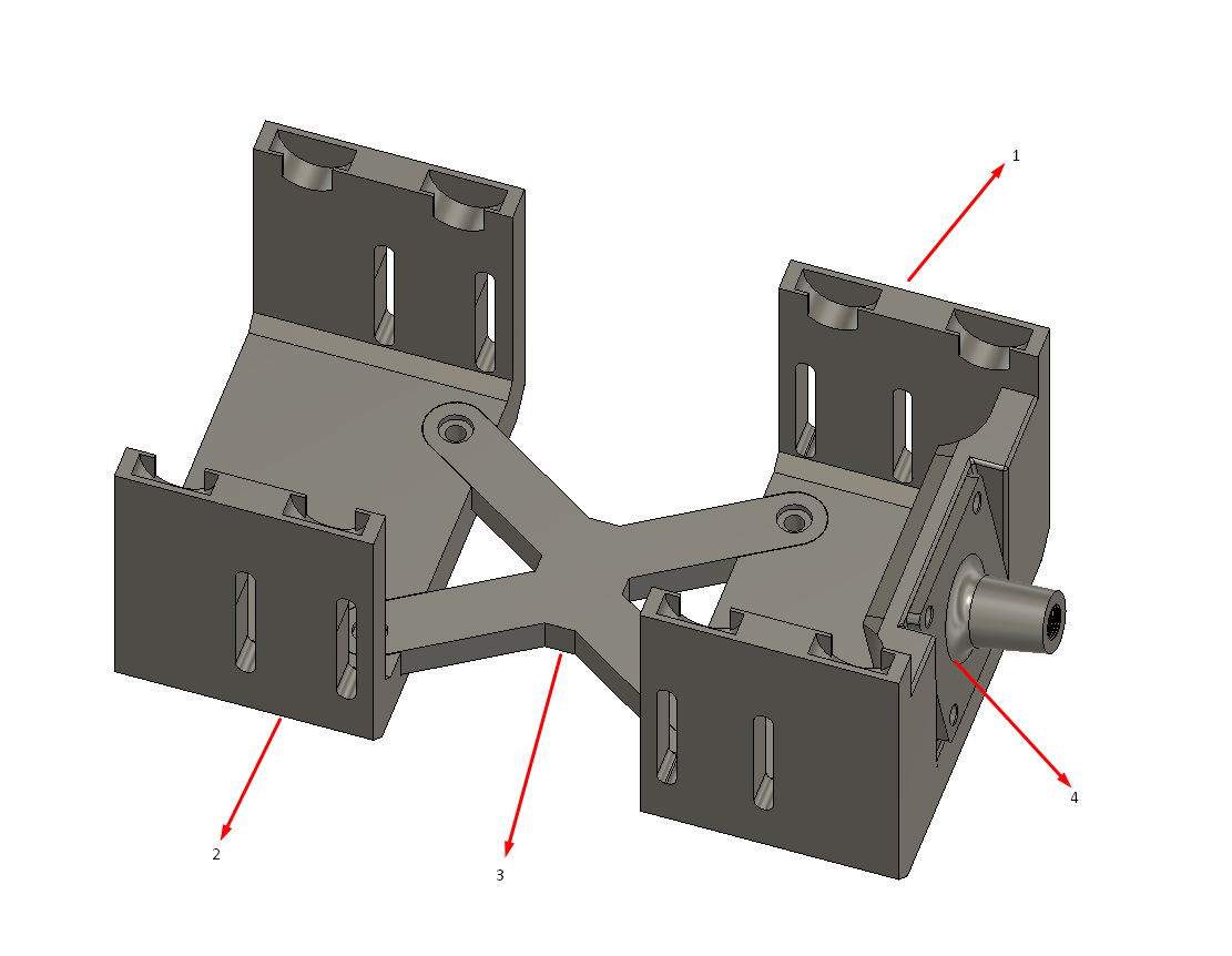 3D model DIY držač filamenta