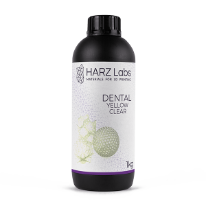 harz labs dental yellow clear 1kg